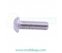 Stainless Steel : SUS 304 Button Head L Socket Screw ISO7380