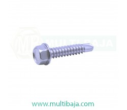 Stainless Steel : SUS 304 Hex Self Drilling Screw DIN7540