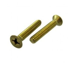 Kuningan JF Flat Head (Countersunk) Machine Screw DIN965