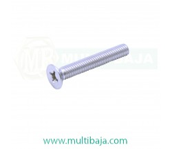 Stainless Steel : SUS 304 JF Flat Head (Countersunk) Machine Screw DIN965