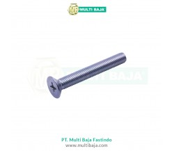 Besi JF Flat Head (Countersunk) Machine Screw DIN965