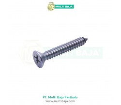 Besi FH Flat Head Tapping Screw DIN7982