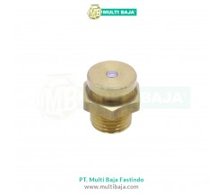 Kuningan Button Head Grease Nipple DIN71412A