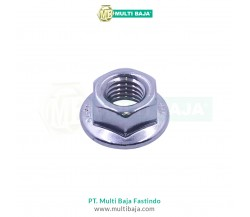 Stainless Steel : SUS 304 Flange Nut DIN6923
