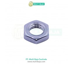 Stainless Steel : SUS 304 Jam Nut DIN439